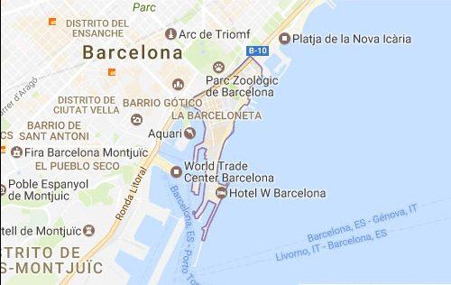 Barceloneta mapa cerrajeros Barcelona 24 horas