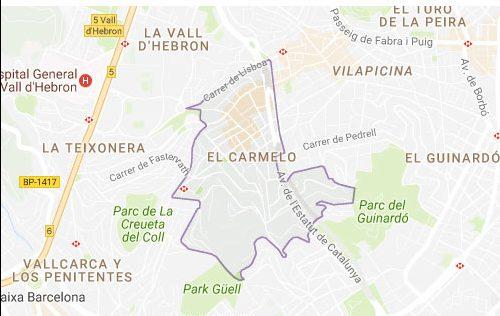 El carmel cerrajeros Barcelona 24 horas